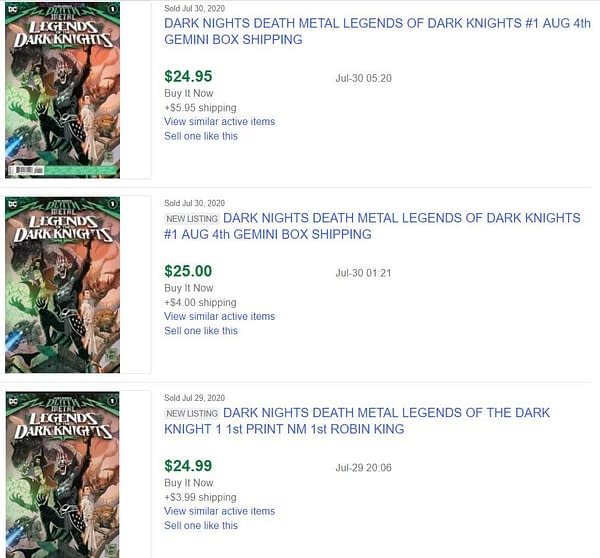 Death Metal: Legends Of Dark Knights Hits $25 Over The Robin King