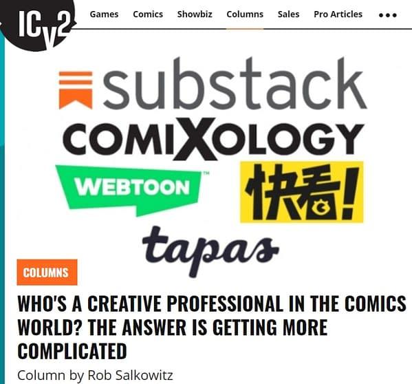 Fanboy Rampage: Webtoon Comic Creators – Amateur Or Professional?
