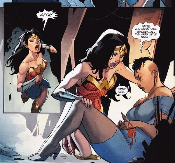 Wonder Woman #27 Engages In Warner Bros Product Placement (SPOILERS)