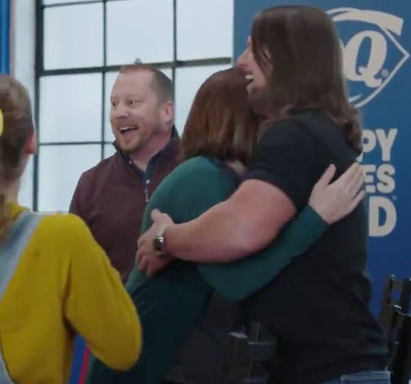 Is AJ Styles breaking up families in this Dairy Queen Commercial? [Screencap]