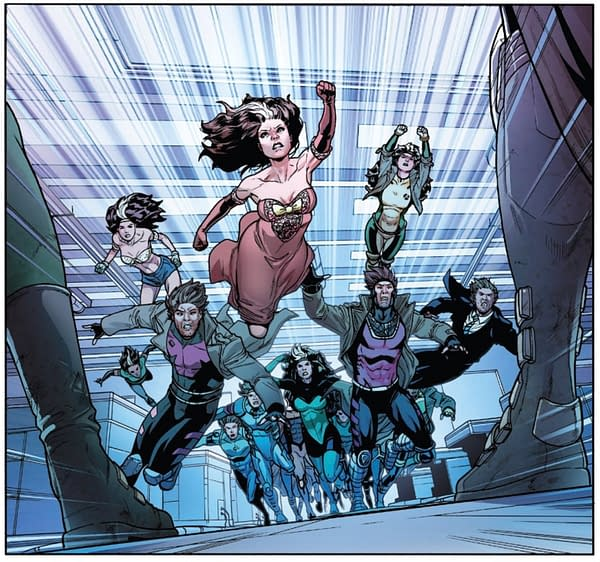 X-Men: Bland Design X-Travaganza – Everything Starts to Come Together in Rogue and Gambit #4