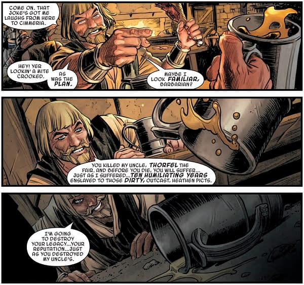 Conan is Bored to Death in Savage Sword of Conan #6 (Preview)