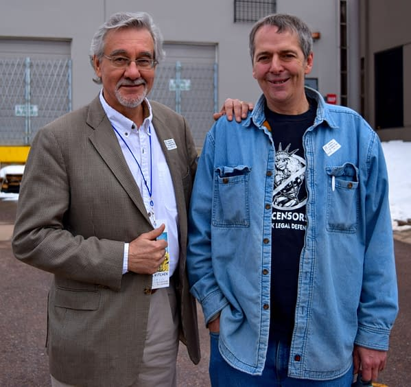1 Denis Kitchen and Tom Burns