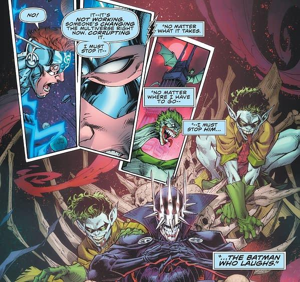 Transforming The Batman Who Laughs in Death Metal #2 (Spoilers).