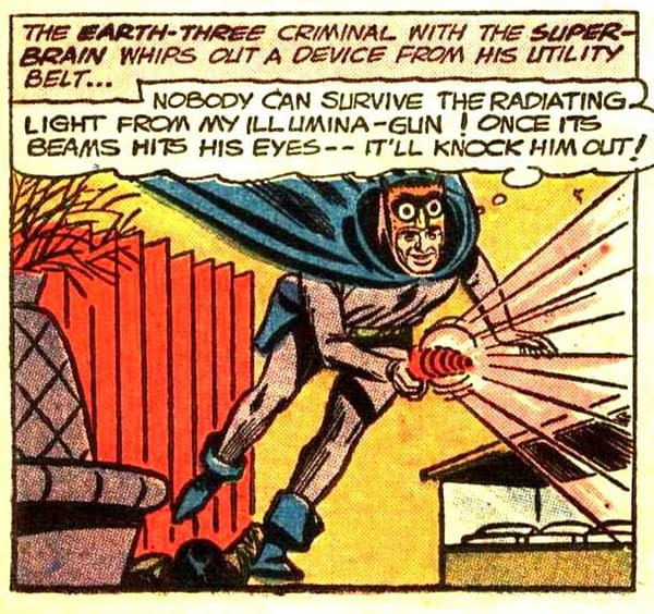 A New Origin For A New Owlman in Crime Syndicate
