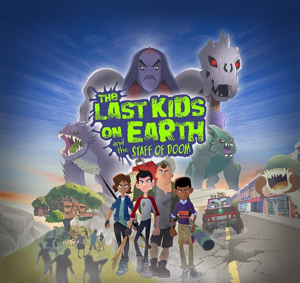 The Last Kids On Earth & The Staff Of Doom Set For Spring 2021