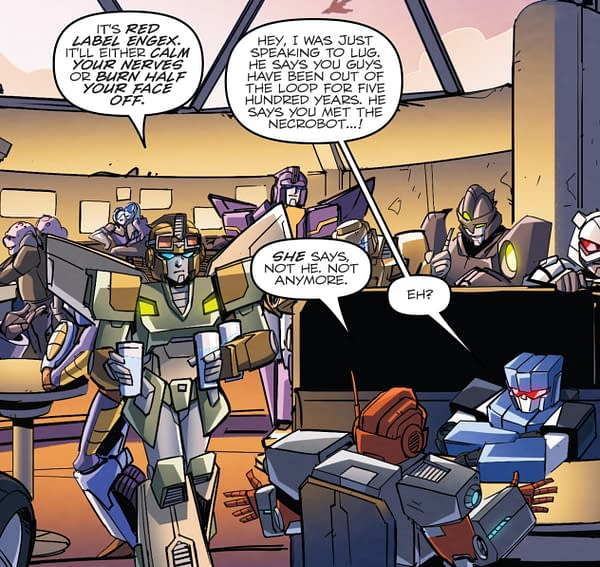 Transformers: Lost Light #8 Features Trans Women Transformers