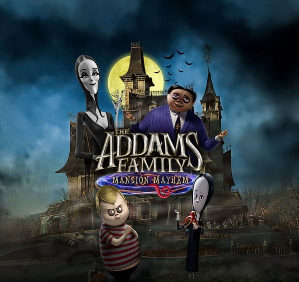 The Addams Family: Mansion Mayhem will be released in September, courtesy of Outright Games.