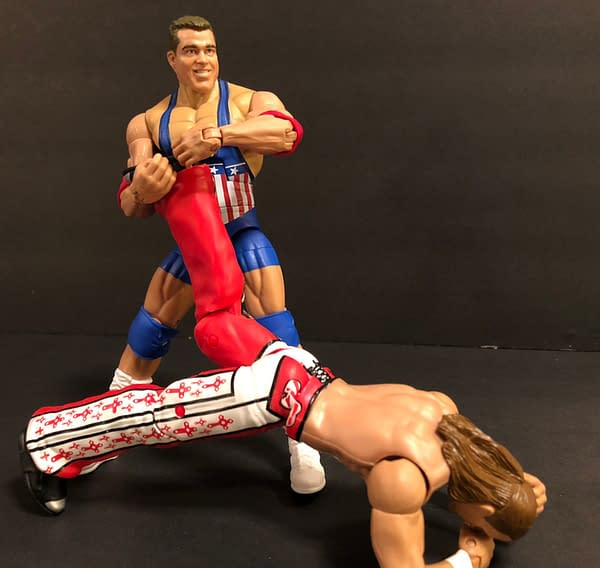 Kurt Angle Helps Bring Back the WWE Entrance Greats Line from Mattel