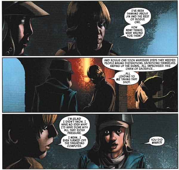 When Luke Skywalker Learnt About Rogue One in Marvel's Star Wars