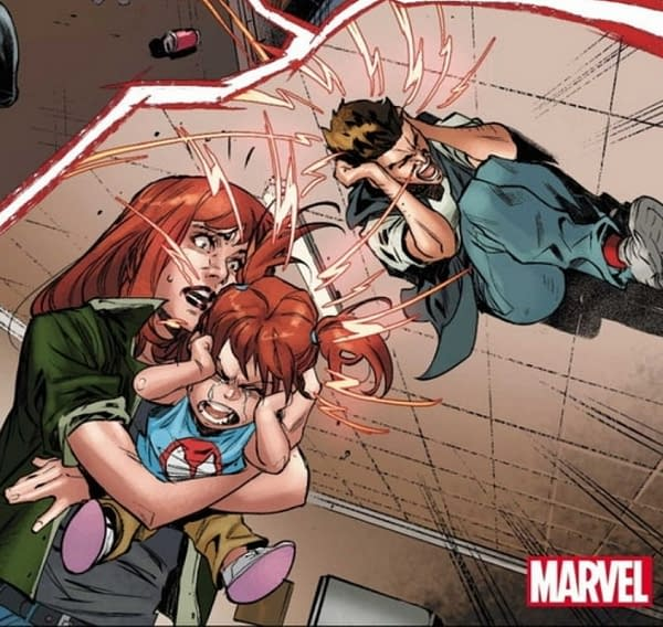 Peter Parker & Mary Jane Married With A Kid - But Only In Dark Ages