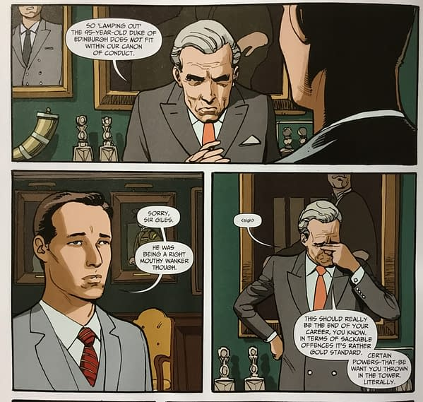The Abuse Of Prince Philip, The Duke Of Edinburgh, In The New Kingsman Comic (SPOILERS)
