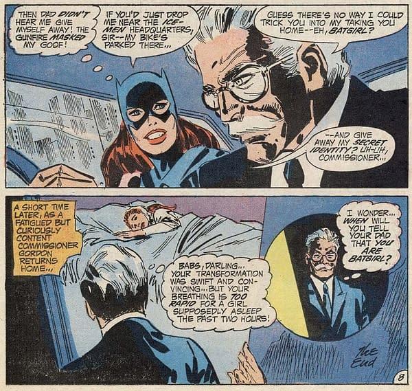 Gotham Gossip: Jim Gordon, Barbara Gordon, Oracle, Batgirl (Spoilers)