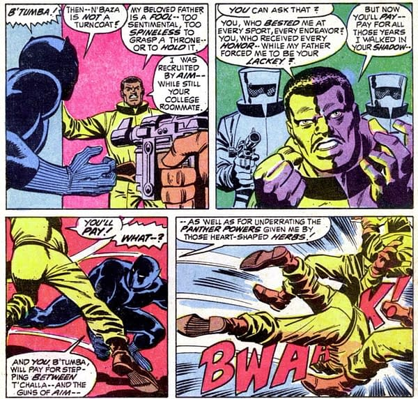 When Marvel Published Black Panther's Origin- Avengers #87 At Auction