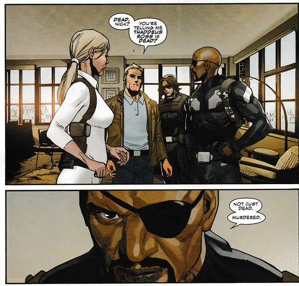 Captain America Still Can't Let Go Of Secret Empire… (#6 Spoilers)