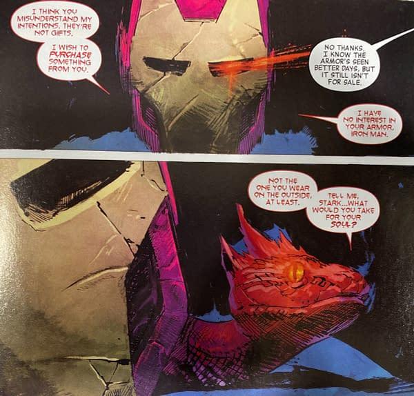 Tomorrow's Avengers #31 Retcons Tony Stark's Parentage... Again? [SPOILERS]