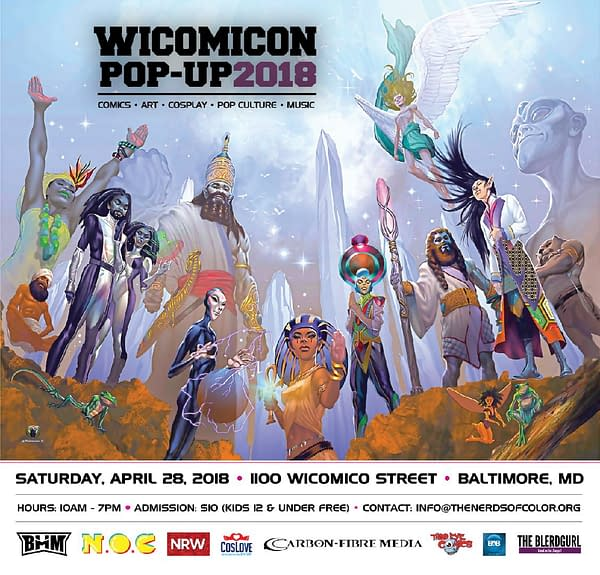 Dieselfunk Dispatch: Why WICOMICON? With Nerds of Color's Keith Chow