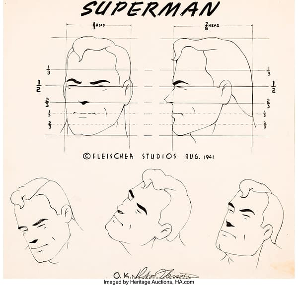 Largest Fleischer Brothers Superman Auction Takes Place In December