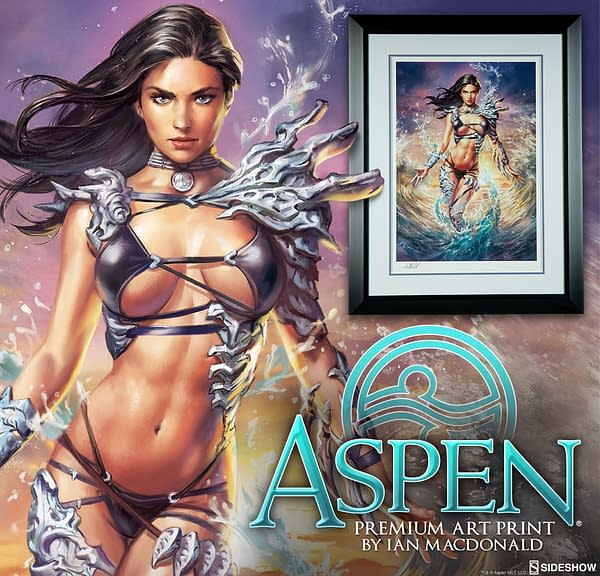 Sideshow To Unveil Aspen Matthews Statue And Print At NYCC