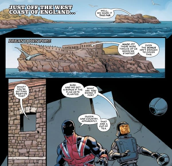 A Very British Guide To Marvel Comics' The Union #1 (Minor Spoilers)