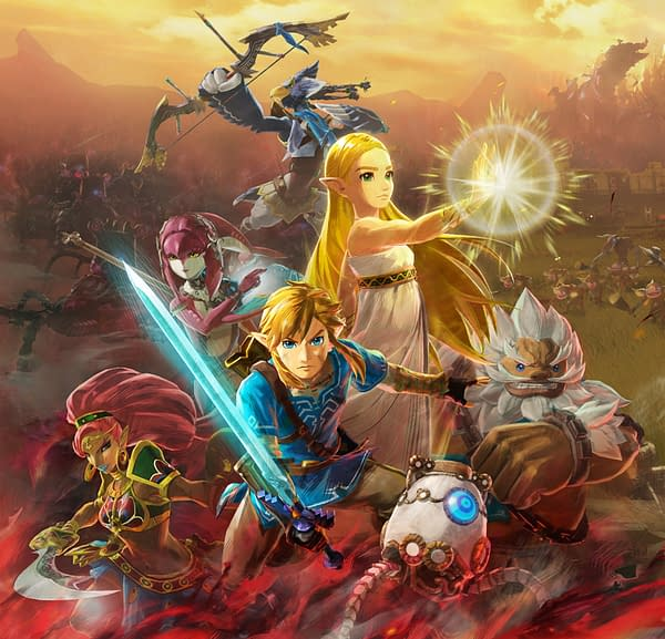 Meet all the champions before the calamity hits the world, courtesy of Nintendo.
