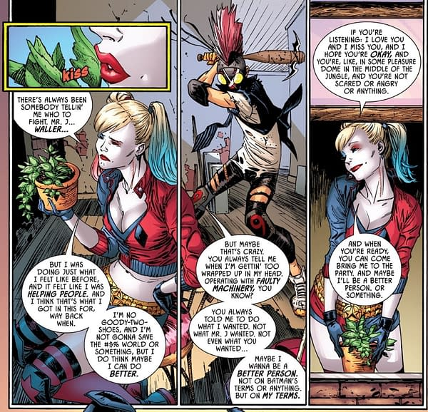 Harley Quinn Still In Love With Poison Ivy - Batman #103
