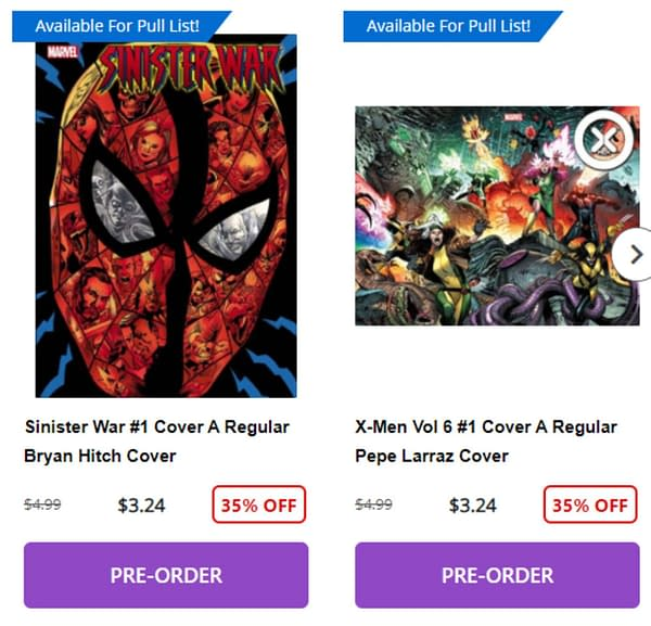 The New Marvel Comics/Diamond Deal And The End Of The Big Discount?
