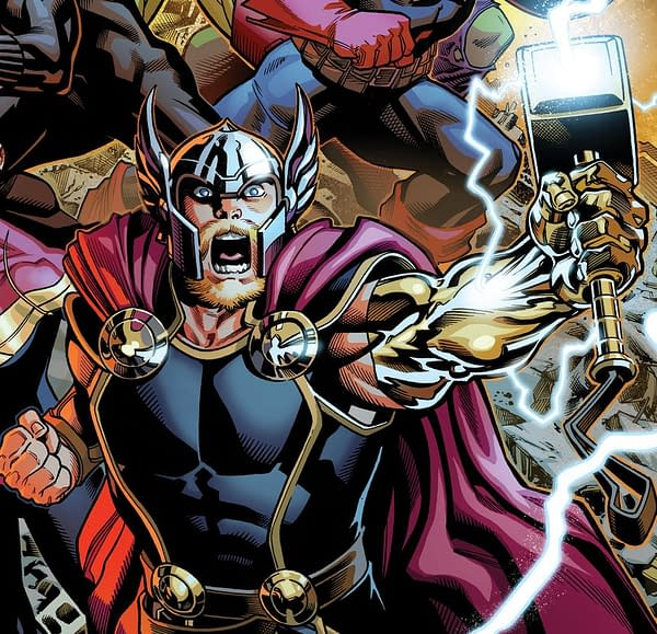 A New Thor Series by Jason Aaron and Ramón Pérez in June? Gates Of Valhalla in May…