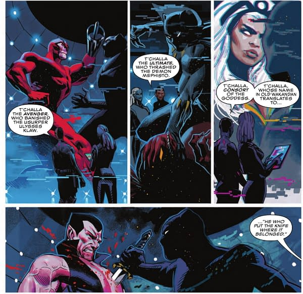 Marvel Finally Reveals What 'T'Challa' Actually Means