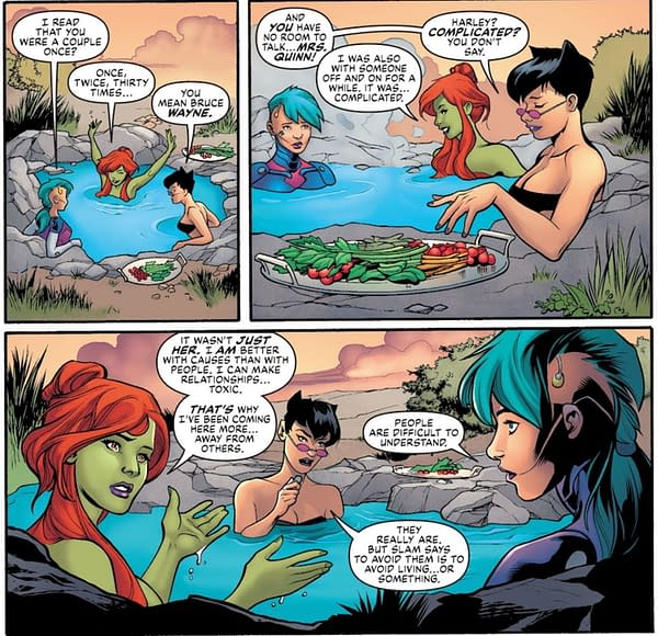 Poison Ivy Made Her Relationship With Harley Quinn Toxic? Spoilers