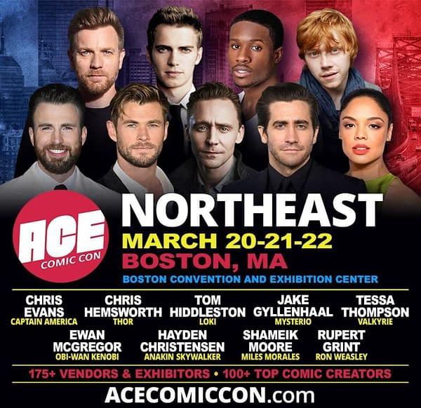ACE Comic Con Northeast in Boston Delayed Over Coronavirus