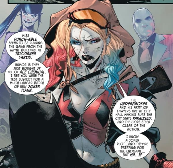 Something New For Harley Quinn Cosplayers in Batman #96 (Spoilers)