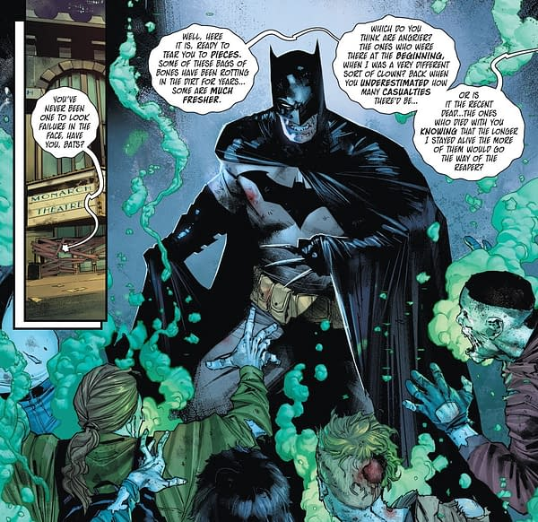Is Warner Bros Okay With Batman Comic Painting Cinemas as Death Traps?