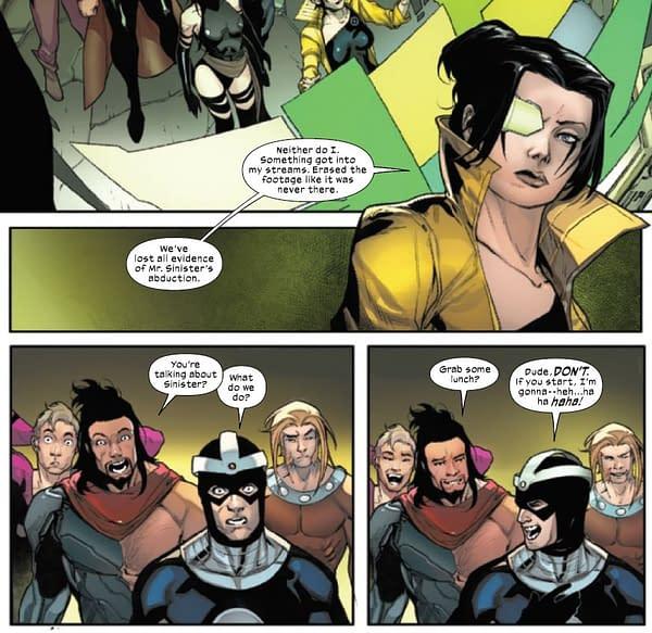 Protocols Challenged In Today's X-Men Comics