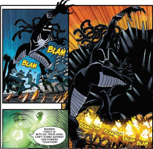 A New Nigerian Venom for the Marvel Universe