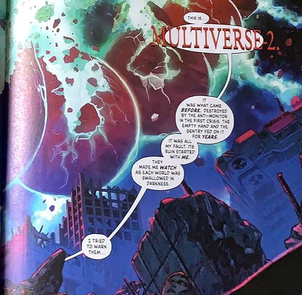 Infinite Frontier #6 Spoilers