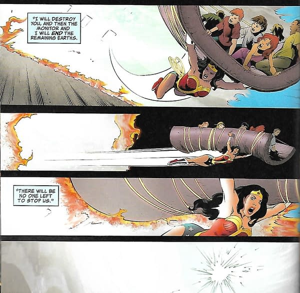 More Cameos & More Earths Destroyed! in Crisis on Infinite Earths Giant #1