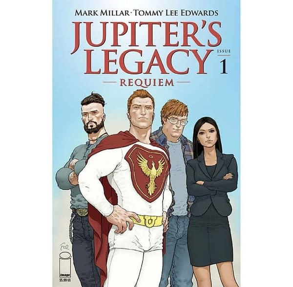 Tommy Lee Edwards Draws Mark Millar's Jupiter's Legacy: Requiem