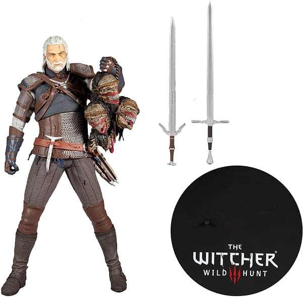 New The Witcher 3: Wild Hunt Figures Revealed by McFarlane Toys