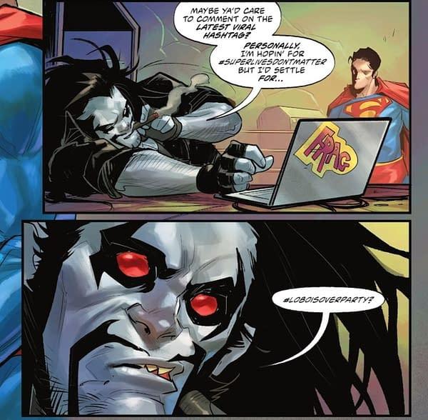 Superman/Lobo Gets Patton Oswalt Effect Over Cancel Culture