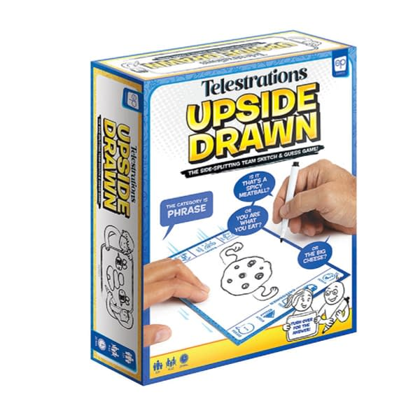 """The OP Games Releases """"Telestrations: Upside Drawn"""" Party Game"""