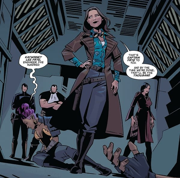 "Captain Kaylee And ""The Last Person Anyone Expected"" in Firefly #25"