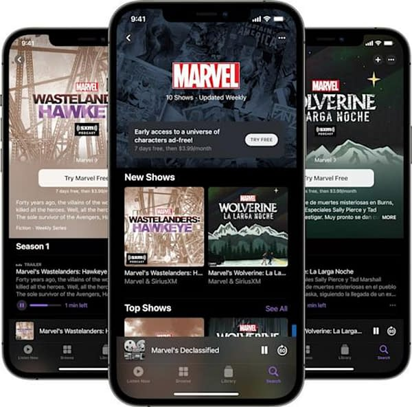 Marvel Podcasts Unlimited Launches Subscription Channel on Apple Podcasts