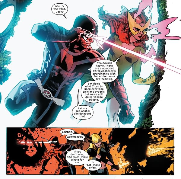 Mahmud Asrar Returns to X-Men, Takes Over From Leinil Yu.