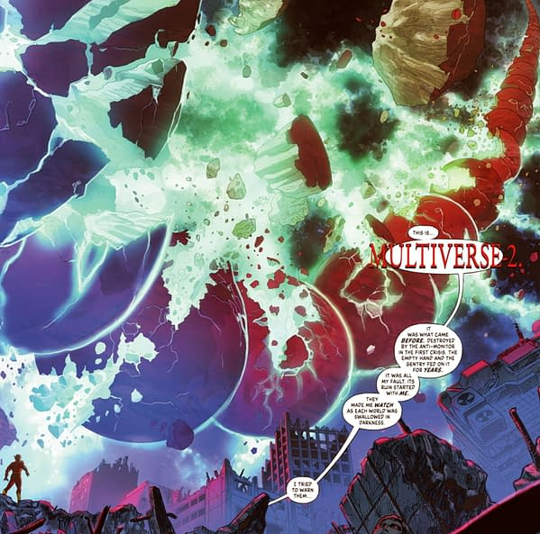 A Brand New DC Multiverse For 2022 (Infinite Frontier #6 Spoilers)