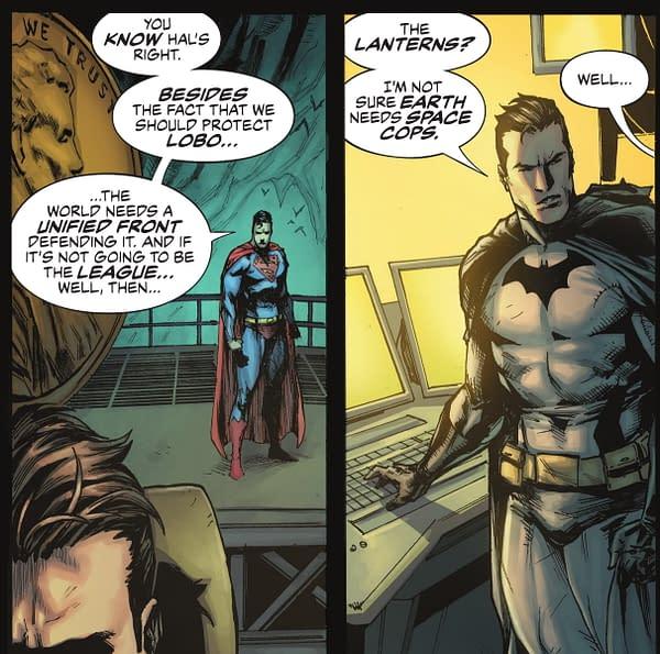 Get Politics Out Of Superhero Comics