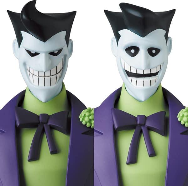 The New Batman Adventures Joker Receives New MAFEX Figure