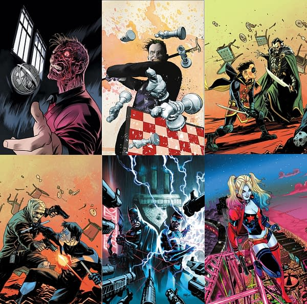 Batbooks Get Fill-In Arcs Until After the BatWedding – a BatRelaunch in the Cards?