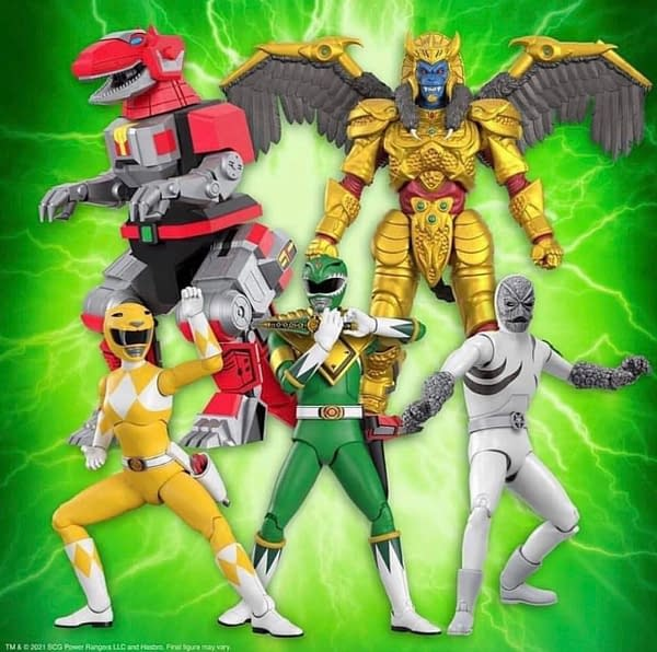 Mighty Morphin Power Rangers Ultimates Wave 1 Unveiled By Super7