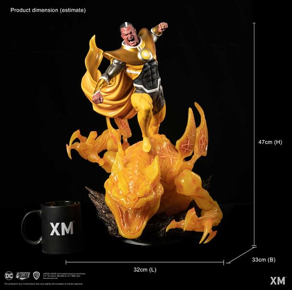 Sinestro Brings the Chaos With New DC Rebirth Xm Studios Statue